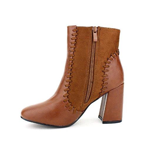 Cendriyon Bottine Caramel WAIDYNS Chaussures Femme Caramel