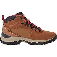 Columbia Men's Newton Ridge Plus II Suede Waterproof Boot - Wide, elk, mountain red 13 US