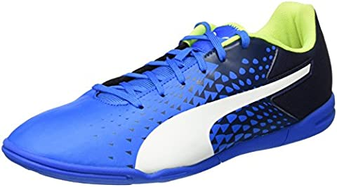 Puma Herren Evospeed Sala Graphic Fußballschuhe, Blau (Electric Blue Lemonade-White-Peacoat 02), 45
