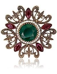 Excelente calidad varios colores nuevo estilo y lujo Amazon.es: Broches De Piedras - Mujer: Joyería