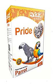 JiMMy Pride Bird Food for Parrot, 900 g