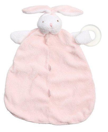 Angel Dear Teether Blankie, Pink Bunny by Angel Dear