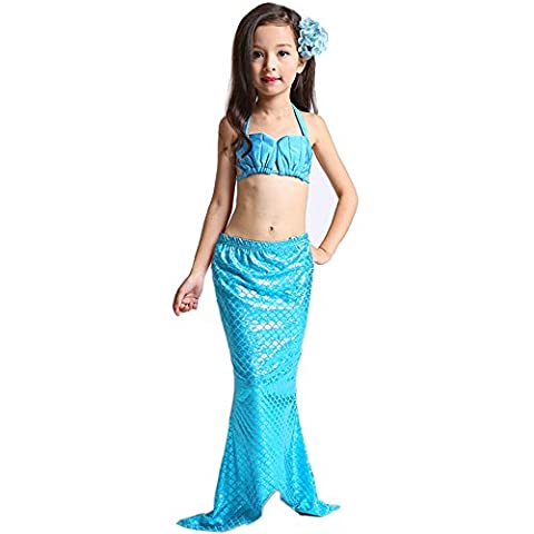 Mermaid Costume - Jysport Girl Maillot de bain Ensemble bikini