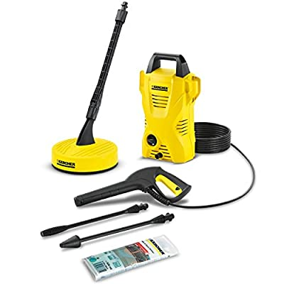Advanced Karcher K2 Compact Pressure Washer with Home Pack 110 Bar 1400w 240v [Pack of 1] -- from Karcher Manufacturing UK