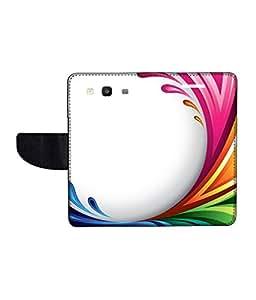 KolorEdge Printed Flip Cover For Samsung Galaxy S3 Neo Multicolor -(45KeMLogo12126SamS3Neo)
