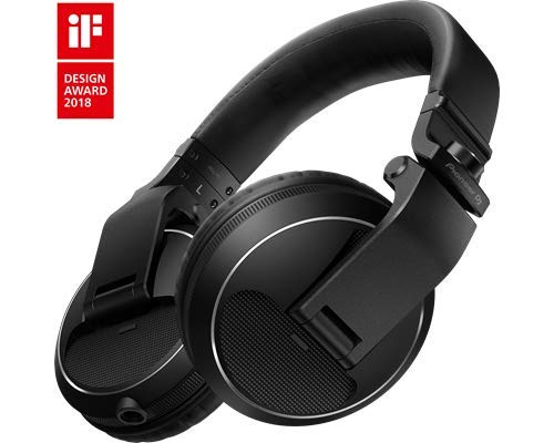 Pioneer HDJ-X5 Black Circumaural Head-band headphone - headphones (Circumaural, Head-band, 5 - 30000 Hz, 2000 mW, 102 dB, 32 Ω)