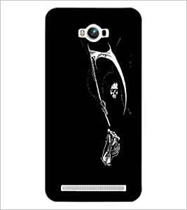 PrintDhaba Skeleton D-2311 Back Case Cover for ASUS ZENFONE MAX ZC550KL (Multi-Coloured)