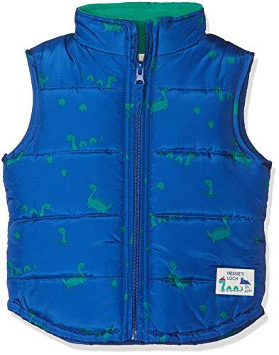 ZIPPY Baby-Jungen Vest Indoor Weste, blau (Blue 000), 80 cm Baby Blue Weste