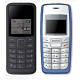I KALL 1.44 Inch Feature Phone Combo - K73 (Black) And K72 (Blue)
