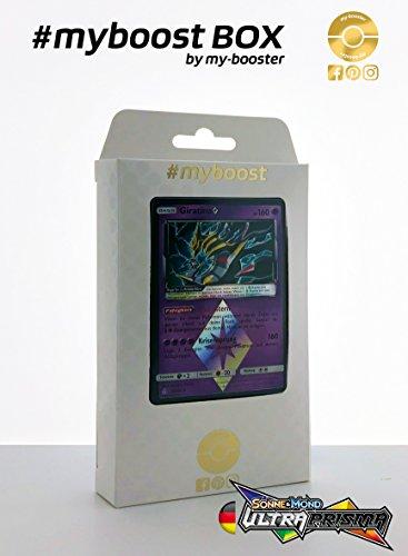 Box #myboost Giratina 58/156 - Sonne und Mond 5 Ultra Prisma - 10 Deutsch Karten - Karten-packs Pokemon 5
