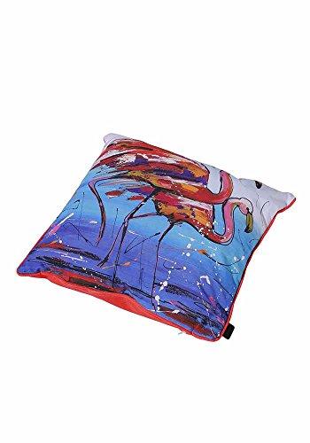 Madison Décoratif coussin d'extérieur Flamingo, env. 50 x 50 cm