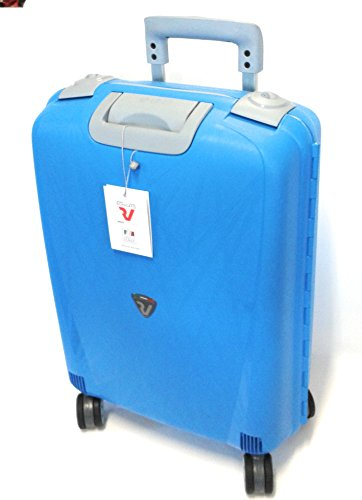 Roncato Light Maleta, 68 cm, 60 litros, Azul Cian