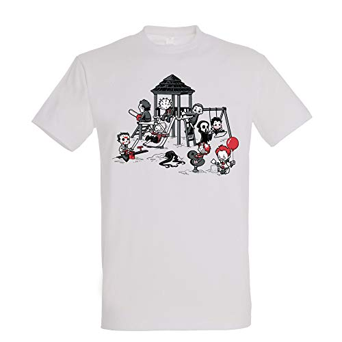Pampling Camiseta Horror Park - Terror - Cine - Color