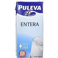 Puleva Leche Entera UHT - Pack de 6 x 1 l - Total: 6 l