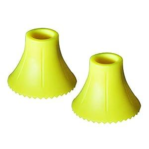 TEHNOMAT Speed Cup Teller 1 Paar, gelb, One Size