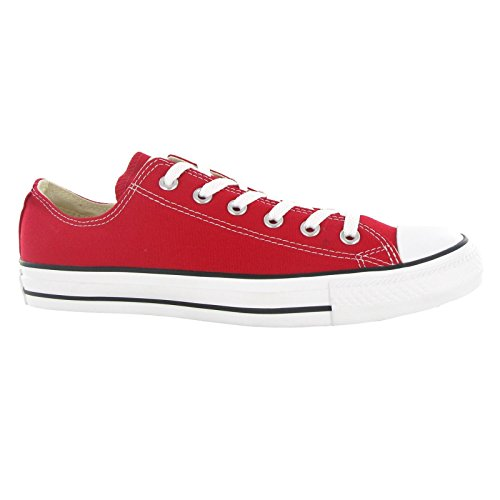 Converse AS Ox Can red M9696 Unisex-Erwachsene Sneaker, Rot (red), EU 42(US 8.5) - 10