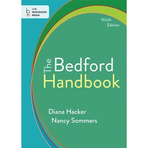 The Bedford Handbook by Diana Hacker (2013-10-18)