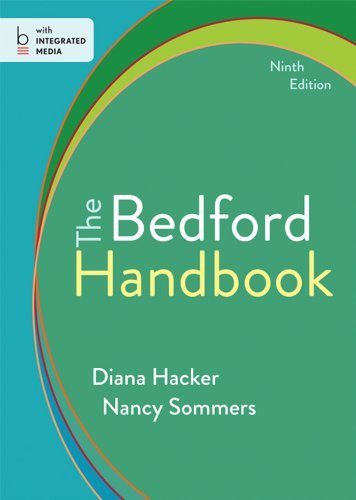 The Bedford Handbook by Diana Hacker (2013-10-18) par Diana Hacker;Nancy Sommers