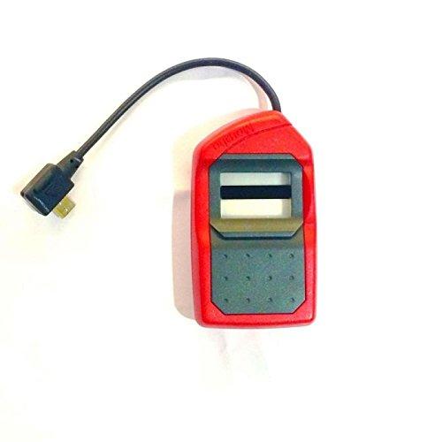 Safran Morpho MSO 1300 E2 Red & Black (All-in-one version) for Aadhaar eKYC, Sim Activation, Banks, Digital Signature, NDLM, Jeevan Pramaan, Apna CSC, Digital Locker (1 Piece)