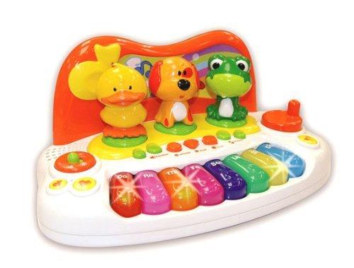 Kinder Baby Keyboard Animal Piano mit Tierstimmen Licht Sounds - Klavier-klassen