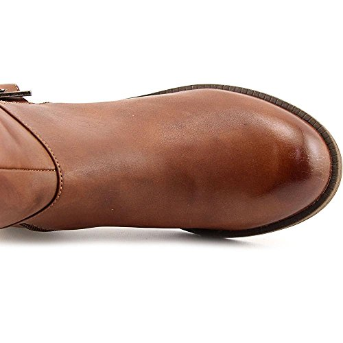 Kenneth Cole Reaction Pod Town Femmes Cuir Botte Cognac