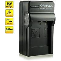 4in1 Caricabatteria Fuji NP-50 | Kodak Klic-7004 | Pentax D-Li68 / D-Li122 per Fujifilm FinePix F70EXR / F80EXR / F200EXR / F300EXR / F500EXR / F550EXR / F600EXR e più… - Kodak EasyShare M1033 / M1093 / V1073 / V1233 / V1253 / V1273 - Pentax Q / Q10 | Pentax Optio A40 / S10 / VS20 e più…