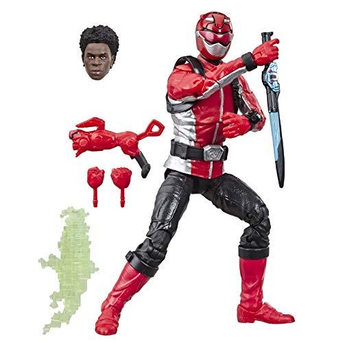 "Hasbro Power Rangers Lightning Collection 6"" Beast Morphers Red Ranger Action Figure"