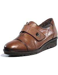 Fluchos Zapato Velcro 9642 Cuero