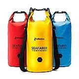 TGcollective Dry Bag | Wasserfester Packsack mit 2 Tragegurten | Perfekt für Wertsachen & Kleidung | Aufbewahrungstasche mit optimalem Schutz vor Wasser, Schnee, Schmutz | 1 x Trockentasche 10l, Gelb
