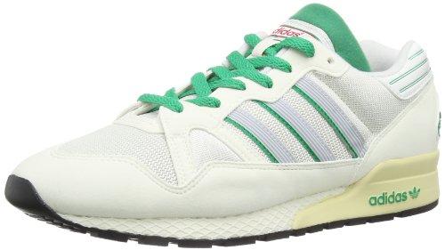 adidas Originals Zx 710, baskets homme Blanc - White Vapour/Neo White/Fresh Green