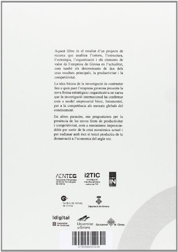 L'empresa gironina a l'economia del coneixement.: Noves fonts de productivitat i competivitat?