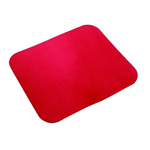 LogiLink ID0128 Alfombrilla para ratón Rojo - Alfombrilla de ratón (Rojo, Monótono, EVA (Ethylene Vinyl Acetate) Foam,Nylon)