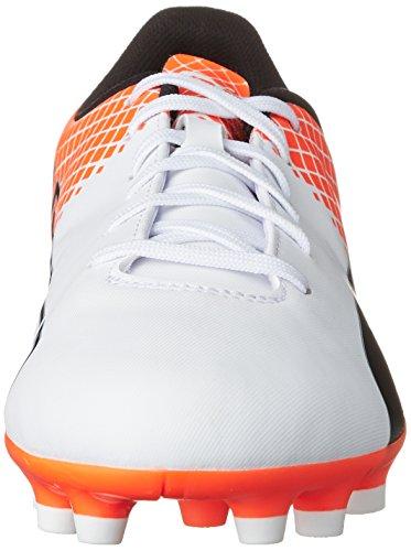 Puma Evospeed 5.5 Tricks Ag Herren Fußballschuhe Weiß (puma white-puma Black-SHOCKING Orange 04)