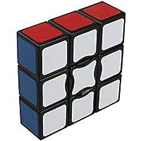MSZtech Suave y velocidad 1x3x3 cubo mágico cubo puzzle cubo (5.7x5.7x1.9cm-negro) - Peluches y Puzzles precios baratos