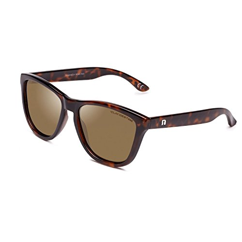 CLANDESTINE Model Habana Brown N - Damen & Herren Nylon HD Sonnenbrillen
