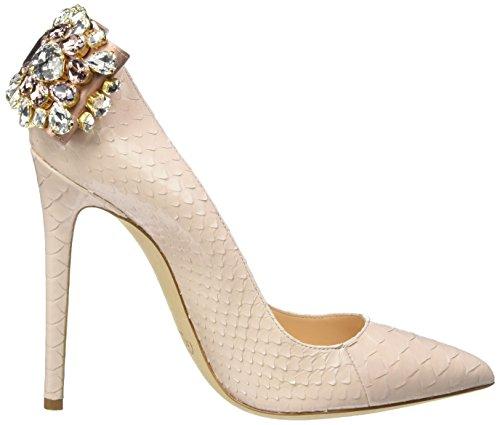 Gedebe Veronique 02, Chaussures à talons - Avant du pieds couvert femme Rose - Pink (NUDE PYTHON)