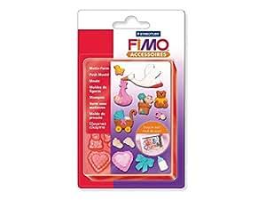 Moules thème bébé pour Fimo