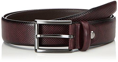 MLT Belts & Accessoires Herren Gürtel Dublin 06208-0041, Gr. 85, Rot (Bordeaux 5000)