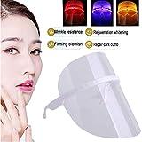 Máscara LED Máscara de color, Equipo de belleza con 3 fotones de color, Fototerapia, Rejuvenecimiento de la piel, Blanqueamiento de arrugas, Antienvejecimiento