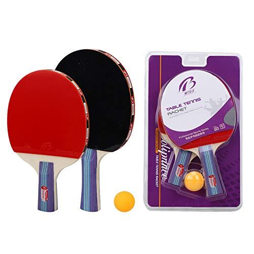 Ping Pong Paddle Set 2 Tabla Raqueta De Tenis Set