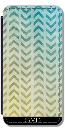 Leder Flip Case Tasche Hülle für Apple iPhone 6/6S - Aztekischer Muster 05 by Aloke Design Lederoptik