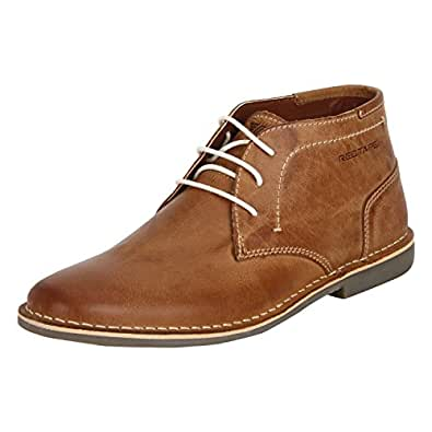 Red Tape Men's RTE0743A Tan Leather Boots-7 UK/India (41 EU) (RTE0743A-7)