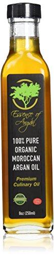 Aceite de argán para cocinar - 250ml orgánico y natural (8oz)