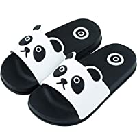 Kids Slippers, MS-SM Baby Toddle Infant Child Girls Boys Home Cartoon Cat Floor Family Shoes Beach Sandals (7-8Years, White)