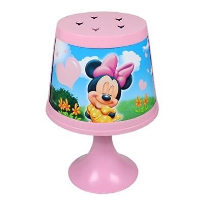 MINNIE MOUSE Kinderlampe 29cm (R2) Nachttischlampe Mädchen Nachtlicht Tischlampe Stehlampe Kinder von Disney bei Lampenhans.de