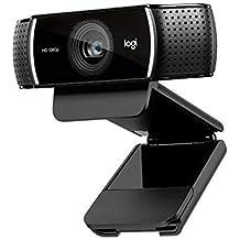 Logitech C920 HD Pro - Cámara Web Full HD (1080pm, sensor de 15 Mp), color negro