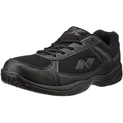 Nivia Mesh PVC School Shoes, Men's 9 UK (Black)