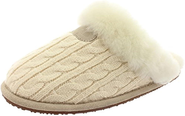Pantoffeln Hausschuhe LAMB FUR SLIPPER 35217