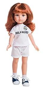 Paola Reina- MUÑECA Cristi Amiga Real Madrid 32 CM, (4722)