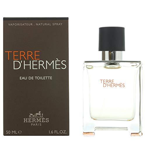 Hermes Terre d'Hermes man, Eau de Toilette, 50 ml, 1er Pack (1 x 50 ml) -